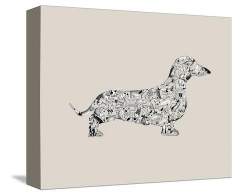 Dachshund-Louise Tate-Stretched Canvas Print