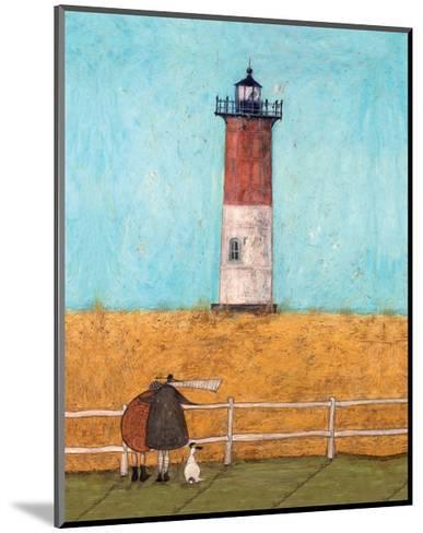 Feeling the Love at Nauset Light-Sam Toft-Mounted Giclee Print