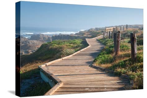 Boardwalk-Dennis Frates-Stretched Canvas Print
