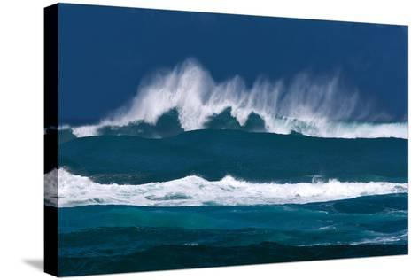 Rolling Waves-Dennis Frates-Stretched Canvas Print