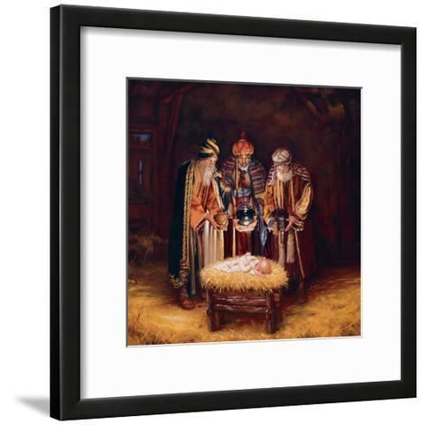 Wise Men Still Seek Him-Mark Missman-Framed Art Print