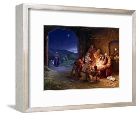 Light of the World - Saviour-Mark Missman-Framed Art Print