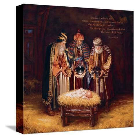 Wise Men Still Seek Him - Prince of Peace-Mark Missman-Stretched Canvas Print