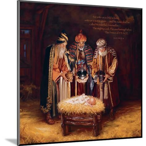 Wise Men Still Seek Him - Prince of Peace-Mark Missman-Mounted Art Print
