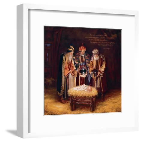 Wise Men Still Seek Him - Prince of Peace-Mark Missman-Framed Art Print