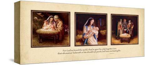 For God So Loved the World-Mark Missman-Stretched Canvas Print