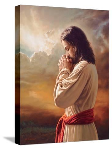 Our Father-Mark Missman-Stretched Canvas Print
