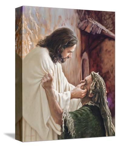 Through the Eyes of Faith-Mark Missman-Stretched Canvas Print
