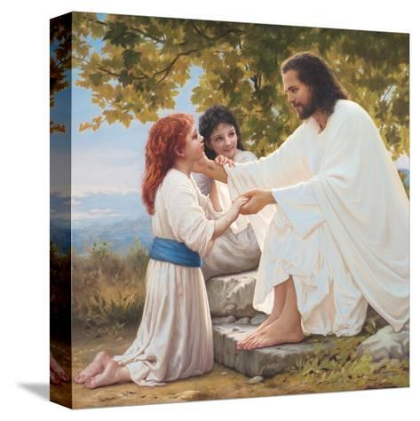 The Pure Love of Christ-Mark Missman-Stretched Canvas Print
