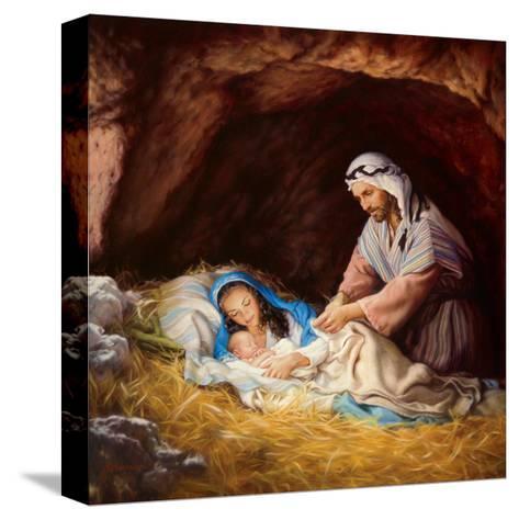Sleep in Heavenly Peace-Mark Missman-Stretched Canvas Print