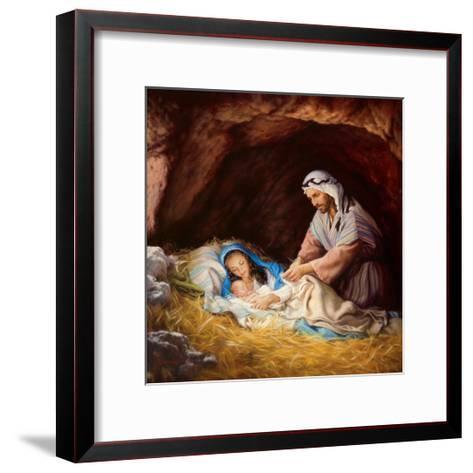 Sleep in Heavenly Peace-Mark Missman-Framed Art Print