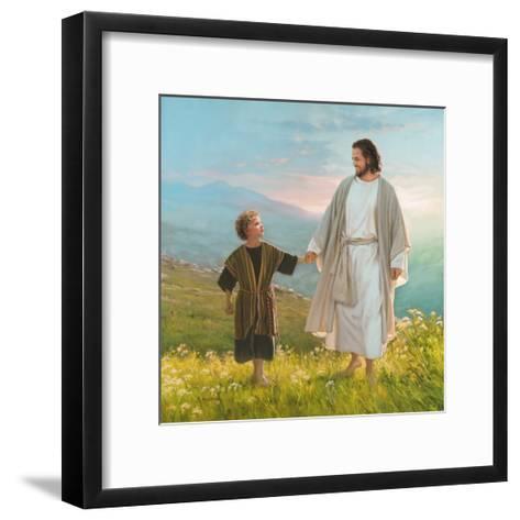 Walk Beside Me-Mark Missman-Framed Art Print