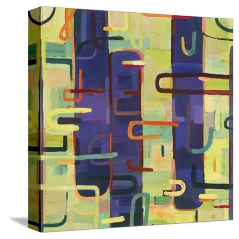 Lattice 2-Akiko Hiromoto-Stretched Canvas Print