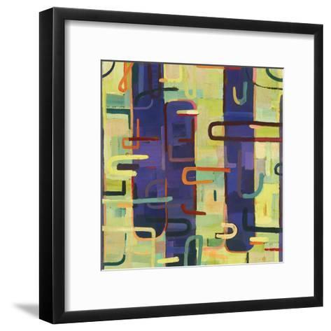 Lattice 2-Akiko Hiromoto-Framed Art Print