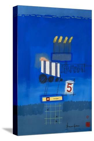 Nacht Wird Tag Collage-Bruno Haas-Stretched Canvas Print