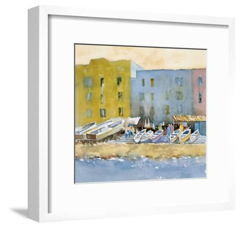 Capri Harbor I-Barbara Maiser-Framed Art Print