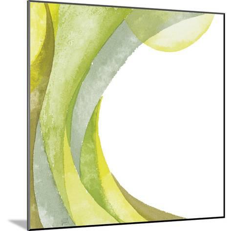 Lime Geometric I-Chris Paschke-Mounted Premium Giclee Print