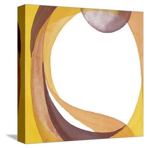 Brown Geometric I-Chris Paschke-Stretched Canvas Print