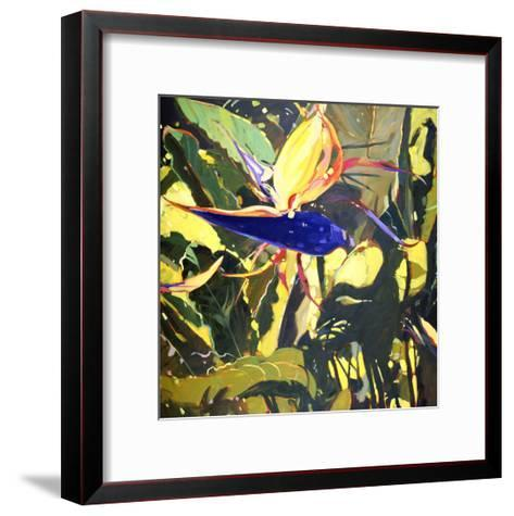 Bird of Paradise-Darrell Hill-Framed Art Print