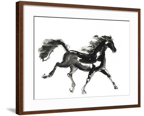 Horse H4-Chris Paschke-Framed Art Print