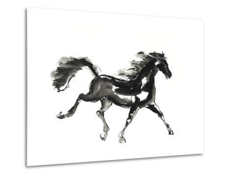 Horse H4-Chris Paschke-Metal Print