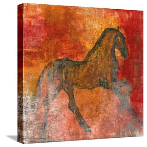 Le Cheval 4-Maeve Harris-Stretched Canvas Print
