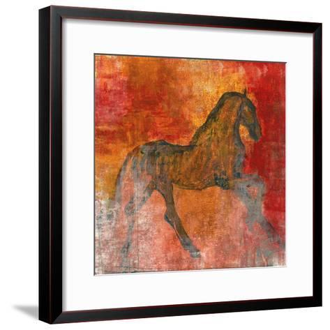 Le Cheval 4-Maeve Harris-Framed Art Print