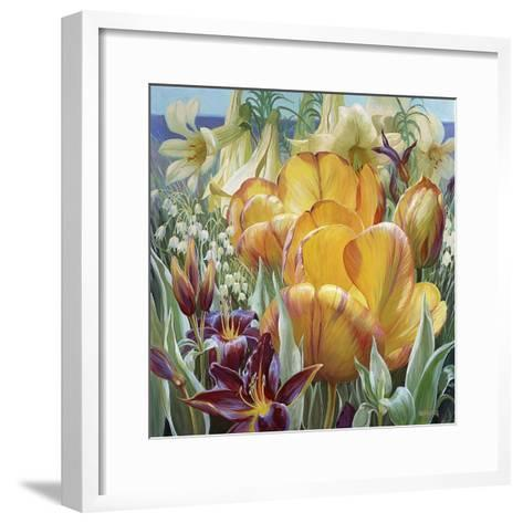 Palisade Garden-Elizabeth Horning-Framed Art Print