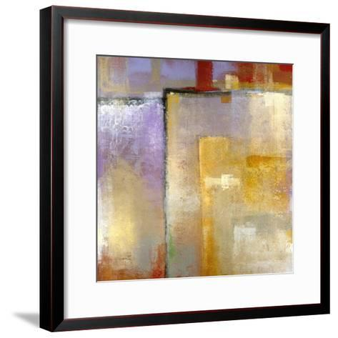Questions of Red and Blue-Maeve Harris-Framed Art Print