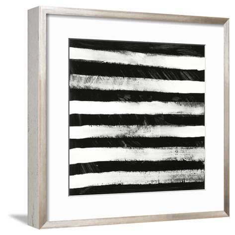 Black and White A-Franka Palek-Framed Art Print