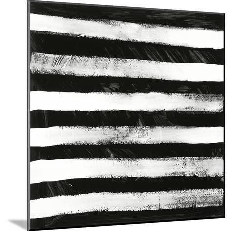 Black and White A-Franka Palek-Mounted Premium Giclee Print