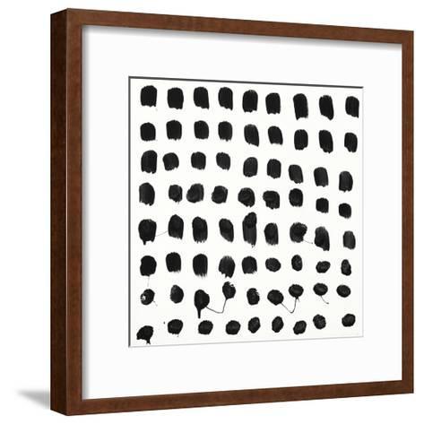 Black and White E-Franka Palek-Framed Art Print