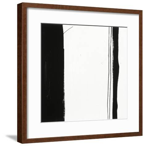 Black and White G-Franka Palek-Framed Art Print