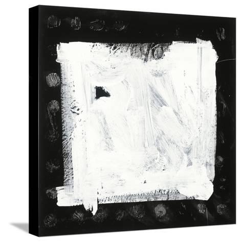 Black and White M-Franka Palek-Stretched Canvas Print
