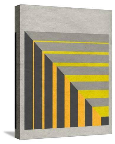 Linen Geometrics G--Stretched Canvas Print