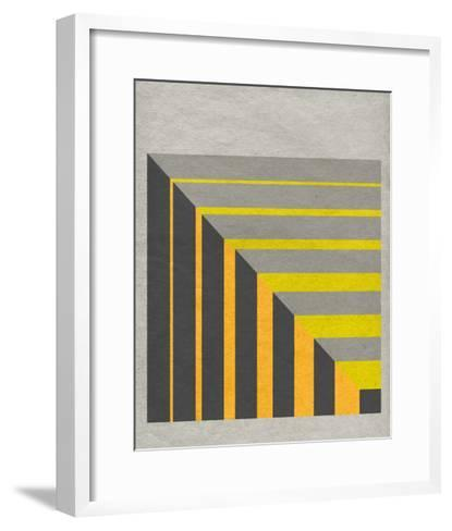 Linen Geometrics G--Framed Art Print