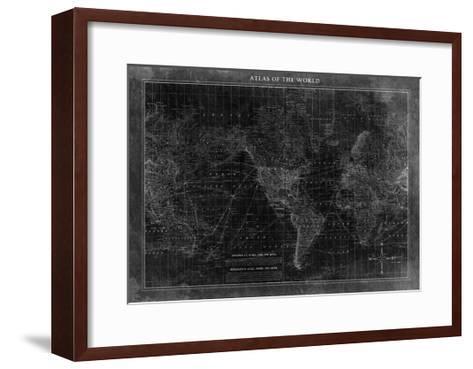Atlas of the World--Framed Art Print