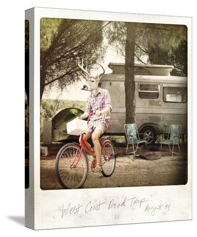 West Coast Road Trip--Stretched Canvas Print