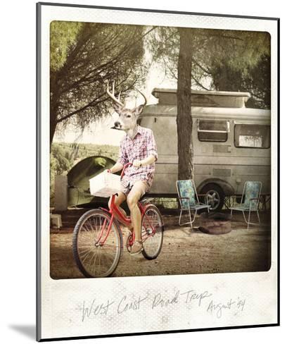 West Coast Road Trip--Mounted Premium Giclee Print