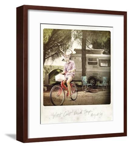 West Coast Road Trip--Framed Art Print