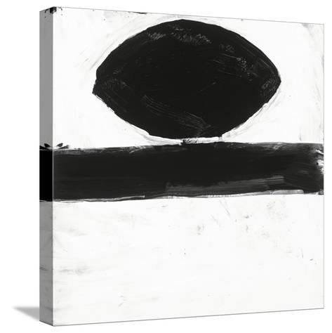 Black and White O-Franka Palek-Stretched Canvas Print
