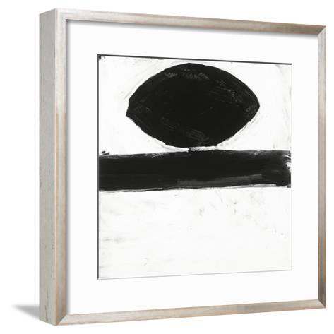 Black and White O-Franka Palek-Framed Art Print