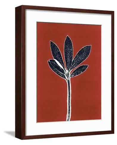 Red 10-Mary Margaret Briggs-Framed Art Print
