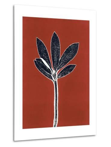 Red 10-Mary Margaret Briggs-Metal Print