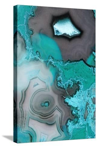 Turquoise--Stretched Canvas Print