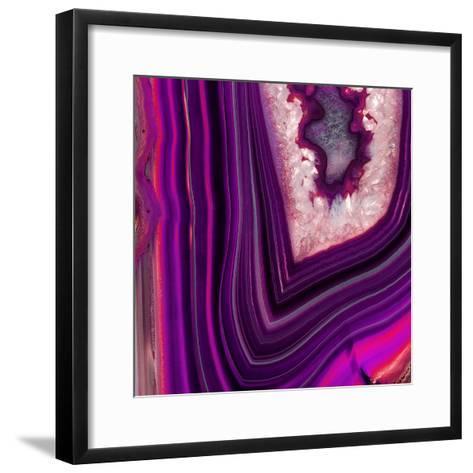 Saturn Geode-GI ArtLab-Framed Art Print