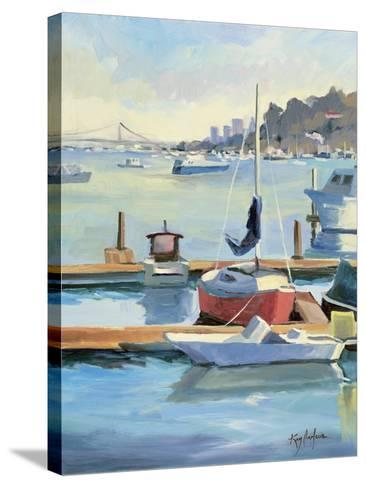 Sausalito Sunbow-Kay Carlson-Stretched Canvas Print