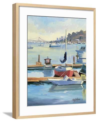 Sausalito Sunbow-Kay Carlson-Framed Art Print