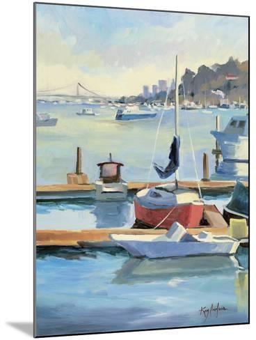 Sausalito Sunbow-Kay Carlson-Mounted Premium Giclee Print