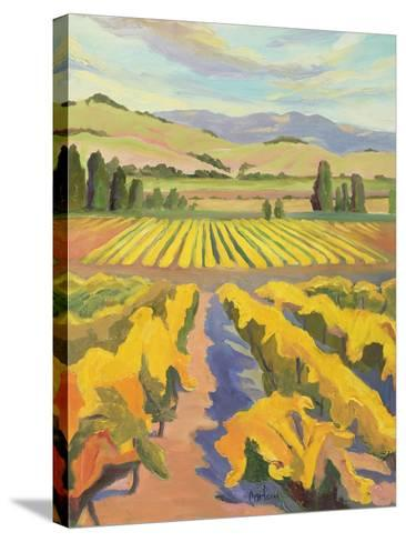 Cline Golden Harvest-Kay Carlson-Stretched Canvas Print